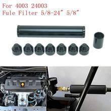 Алюминиевый 5/8-24 для NAPA 4003 WIX 24003 автомобильный топливный фильтр 1X7 автомобильный сольвентный фильтр