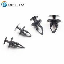 KE LI MI 30 шт., автомобильные бампера, брызговики, фиксаторы, заклепки пуш-типа для Ford