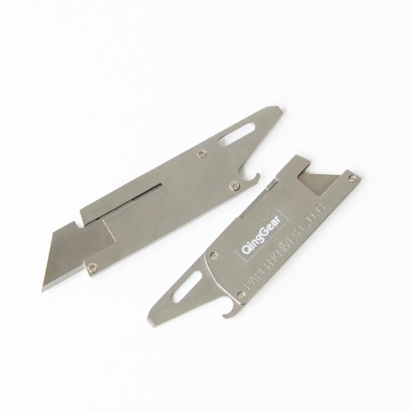 Kompaktowy wielofunkcyjny nóż papierowy W / żyletka płaski - Narzędzia ręczne - Zdjęcie 3