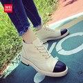 2017 Resorte de Las Mujeres Clásicas Botas de Nieve Del Tobillo Plataforma UGS Australia Zapatos Femal Casual Algodón Suave Superior Impermeable y Transpirable