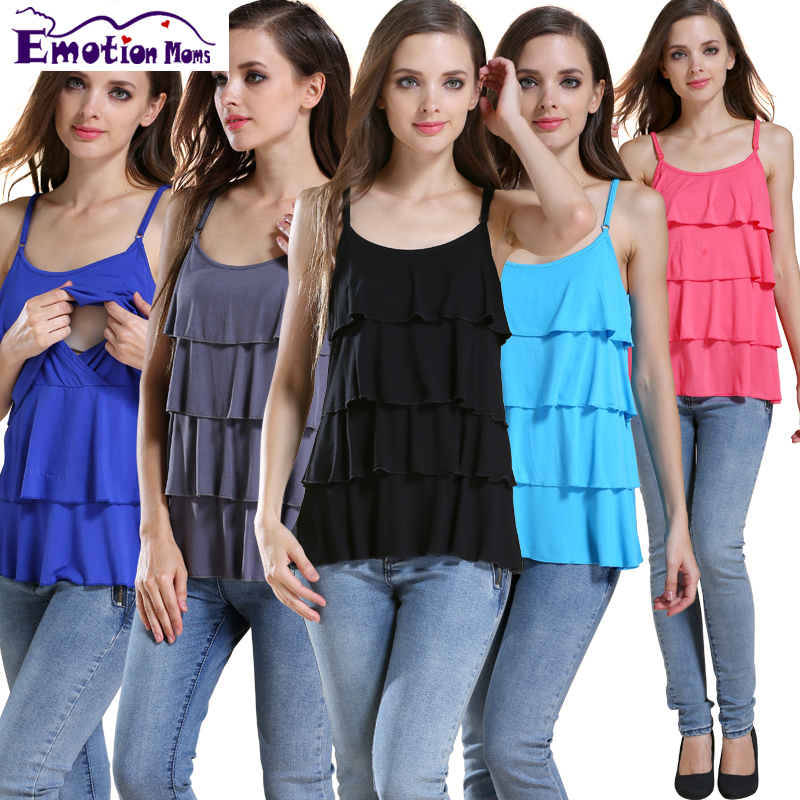 Emotion Moms Modal Maternity Clothes Nursing Tank Tops Pregnancy Tank Mix colors 3pcs lot in Tanks Camis from Mother Kids