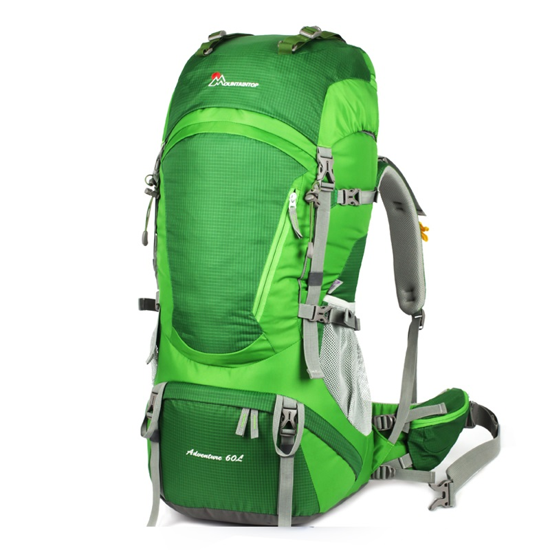 New Arrival High Quality Waterproof Polyester 55L 5L High Capacity Professional Climbing Bags Meet font b