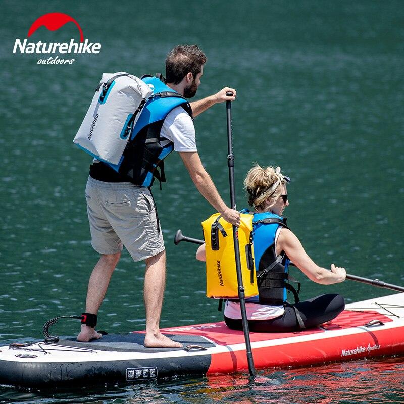 Naturehike 28L Outdoor Waterdichte Zwemmen Tas Rugzak Emmer Dry Sack Opbergtas Rafting Kajak Varen Reizen Waterdichte Tas-in Zwemtassen van sport & Entertainment op title=