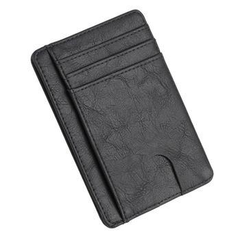 Λεπτό δερμάτινο πορτοφόλι και Card Holder με σύστημα RFID Blocking Αντρικά Πορτοφόλια Γυναικεία Πορτοφόλια Τσάντες - Πορτοφόλια Αξεσουάρ MSOW