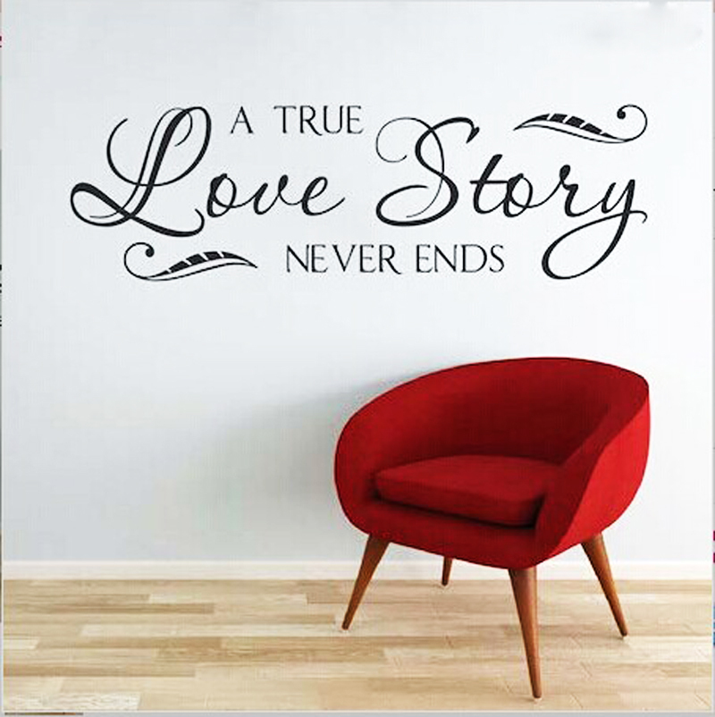 Free Shipping True Love Story Never Ends Inspiration Religious Qoute