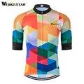 Weimostar 2018 Ciclismo Jersey Top Ciclismo Ropa transpirable verano mtb bicicleta Jersey Maillot Ropa De Ciclismo Hombre