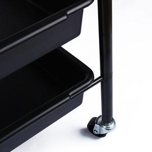 Image 5 - Professionelle 5 Schubladen Salon Friseur Trolley Friseur friseursalon Trolley Haar Roll Lagerung Warenkorb Friseur Styling Werkzeuge