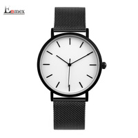 2017 Enmex Cool Style Men Wristwatch Brief Vogue Simple Stylish Black And White Simple Brief Face