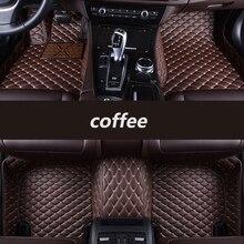 Kalaisike piso automotivo personalizado, tapetes de carro para chevrolet captiva sonic vela spark aveo cruze blazer epica camaro equinox cavalier trax