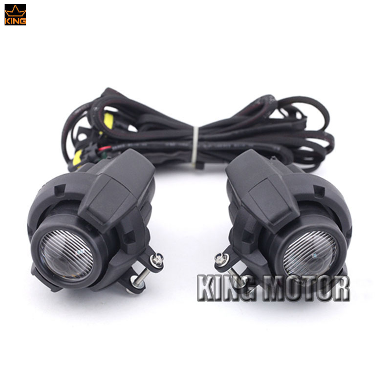 For BMW R1200GS/ADV/F800GS/F700GS/F650FS/R1150GS Motorcycle Accessories Front Head Light Driving Aux Lights Fog Lamp for bmw r1200gs adv f800gs adv f700gs new motorcycle adjustable handlebar riser bar clamp extend adapter