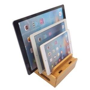 Image 4 - Bambu çok cihaz kabloları şarj istasyonu dock tutucu standı iPhone 8X7 6 ve tabletler İçin samsung Galaxy Dock