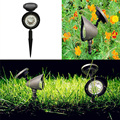 À prova d' água LED luzes solares do jardim lâmpada do gramado Iluminação Holofotes Ao Ar Livre Branco
