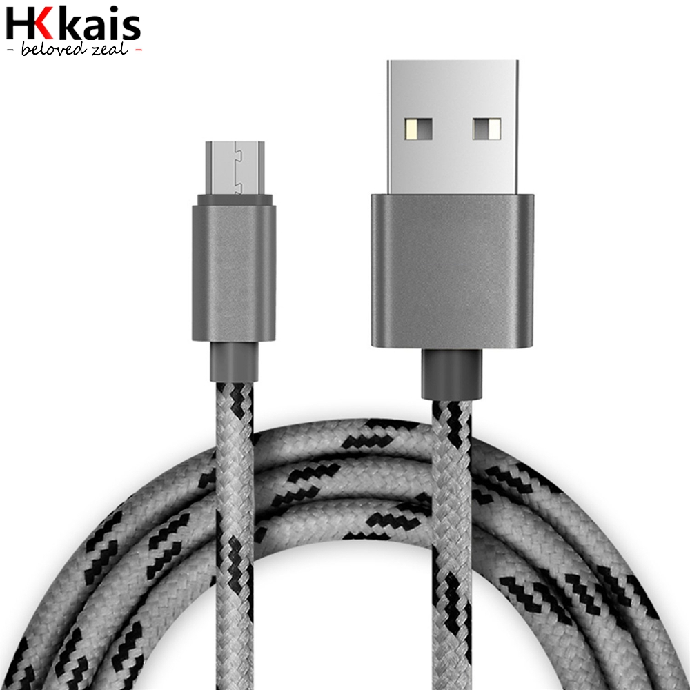 HKkais Micro USB Cable Fast Charger Adapter Original 1M 2M 3s