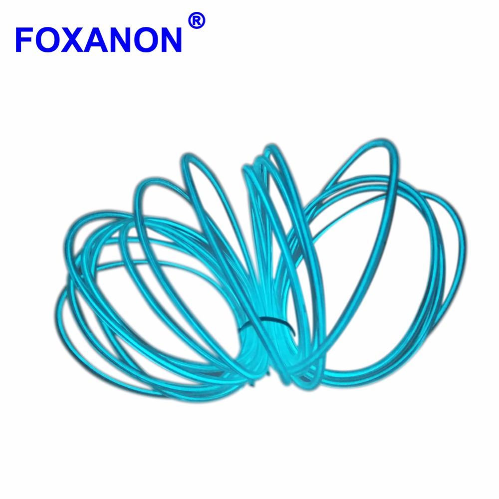 detail feedback questions about foxanon el wire strip waterproof