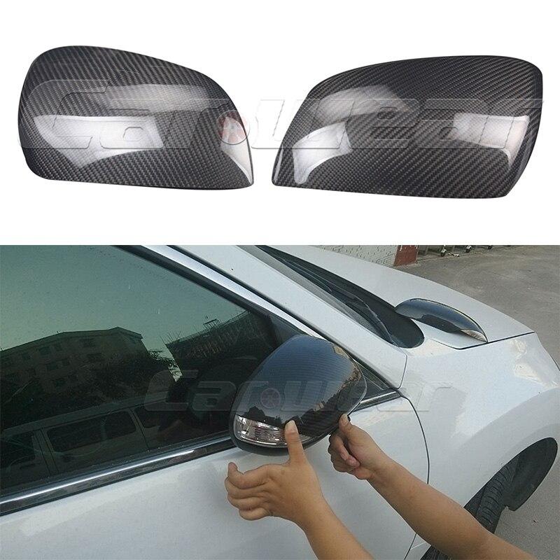 Carbon Fiber Car tuning side wing mirror cover trim for Mazda 3 2011-2012 Sports Version chromesupply mazda 2 demio chrome side mirror cover with led side blinker trim