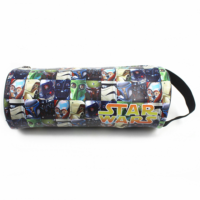 Star Wars Batman Superman Deadpool Wallet Coin Purse Men Wallets Women Carteira Zipper Bag Purse Pencil Pen Case Cases Pouch