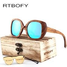 New fashion Sunglasses Men Glass Bamboo Sunglasses Polarized sunglasses au Retro Vintage Wood Lens Wooden Frame Handmade.BA98