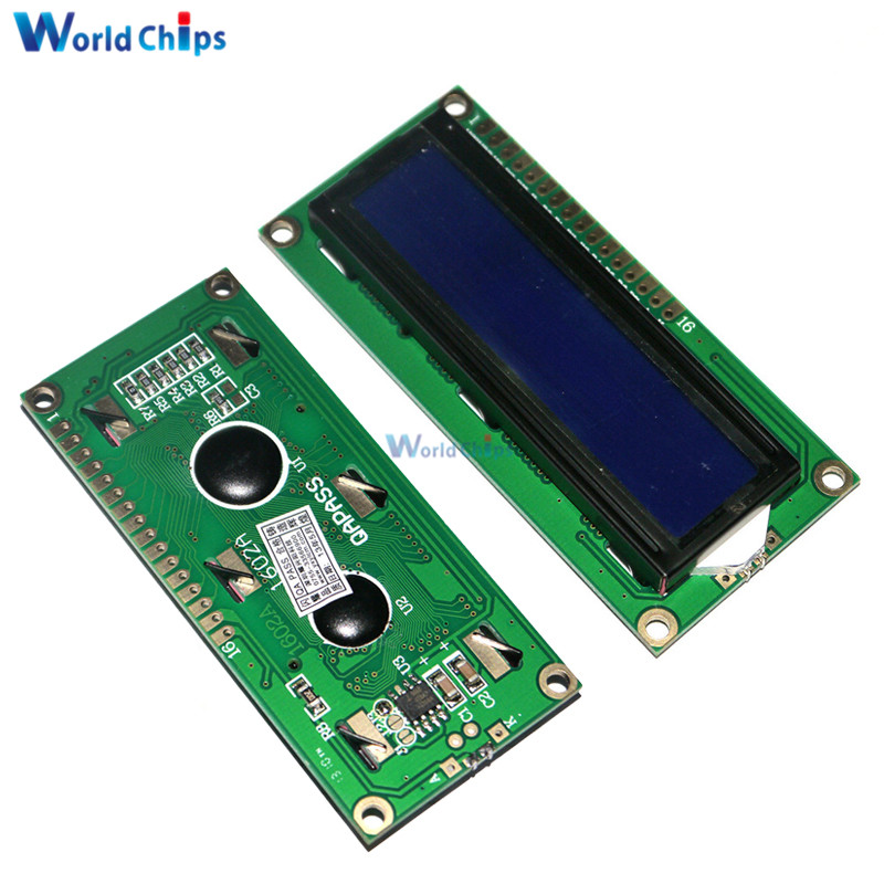 3.3V LCD1602 LCD Monitor 1602 Yellow/Blue Screen White Code Blacklight 16x2 Character LCD Display Module HD44780 1602A