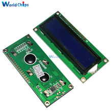 3.3v lcd1602 lcd monitor 1602 amarelo/azul tela código branco blacklight 16x2 personagem módulo de exibição lcd hd44780 1602a