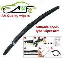 Free Shipping Wholesale Car Wiper Blade Natural Rubber Car Wiper Car Accessory Auto Soft Windshield Wiper