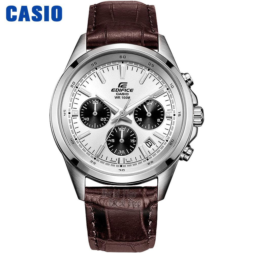 Casio watch Men's watch business casual waterproof quartz male watch EFR-527D-2A EFR-527D-7A EFR-527L-1A EFR-527L-7A EFR-526SG casio sheen multi hand shn 3013d 7a
