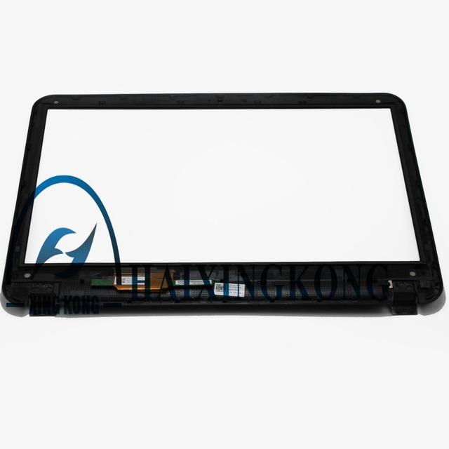 "Laptop de 15.6 ""de pantalla táctil de cristal digitalizador + bisel para dell inspiron 15r 5520 5521 5528 5535 5537"