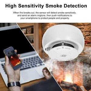 Image 5 - Wifi Smoke Detector Smart Fire Alarm Sensor Wireless Security System Smart Life Tuya APP Control Smart Home