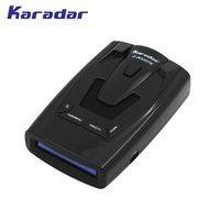 Karadar Car Detector GPS Radar Detector Russian Fixed Flow Velocity Car Detector Radar New Data Base