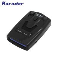 Karadar Car Detector GPS Radar Detector Russian Fixed Flow Velocity Car Detector Radar New Data Base
