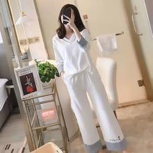 2 pcs Winter Women Pyjamas Sets V Neck Thick Warm Cartoon Animal Pijama nightgown Sleepwear Suit