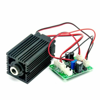 12V 980nm 100mw Focusable IR Laser Diode Module Line Beam w/ TTL Infrared Light Night Vision