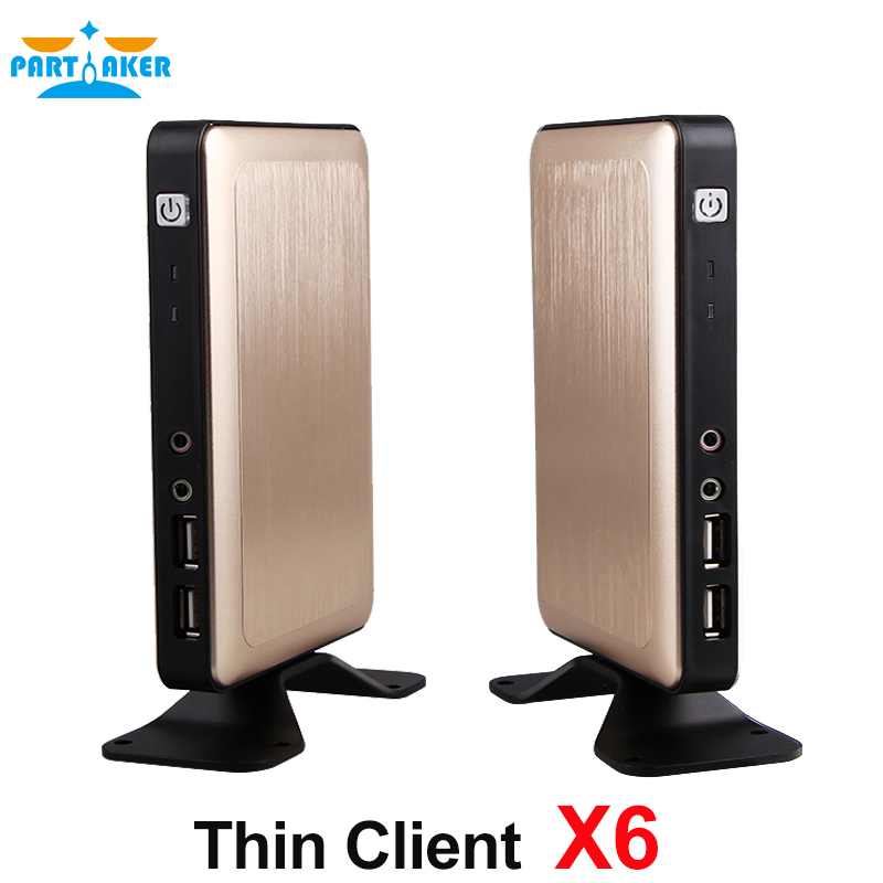 2017 RDP 8.0 protocol Thin Client Mini PC Station with 1GB RAM 8GB Flash support Support Online HD Video mini pc n2830 n2840 2gb ram 8gb ssd with wifi embedded thin client mini fanless pc support linux os ubuntu