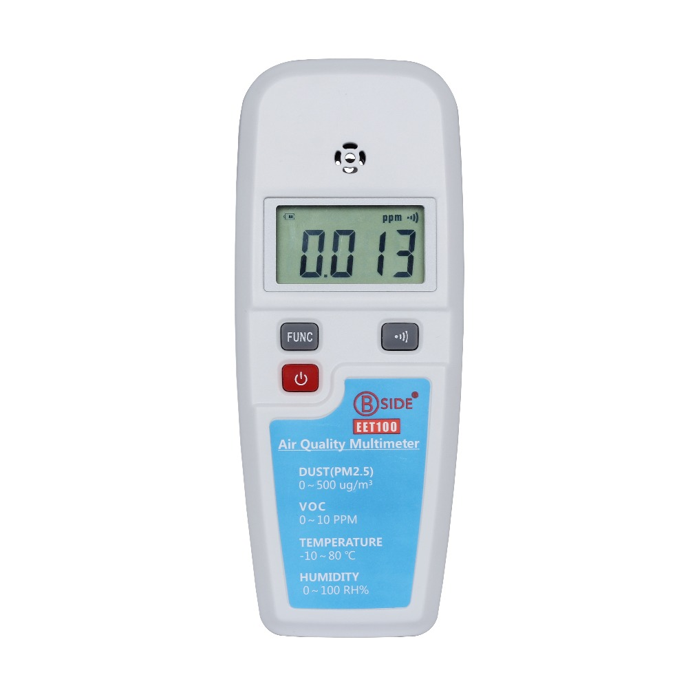 BSIDE EET100 VOC Formaldehyde PM2.5 Air Quality Monitoring Tester  мультиметр bside adm01