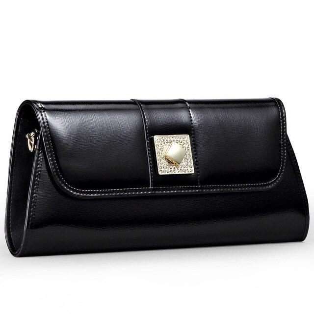 new custom leather handbags big European and American fashion clutch bag  manufacturers chain bag evening bags c65b3883da776