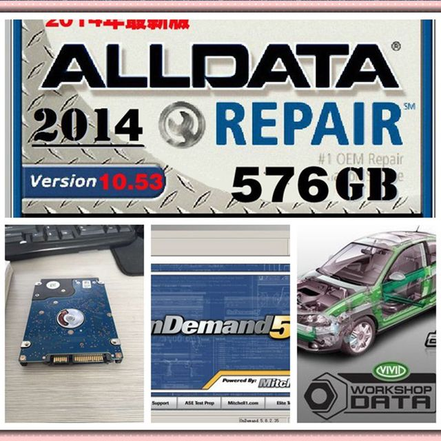 2018 promotion auto software alldata 10 53 and mitchell 2015 car rh aliexpress com Auto Repair Manual mitchell motor manuals online