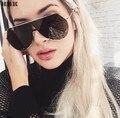 2017 Mais Recente Moda óculos de Sol Marca de Luxo Designer Mulheres Espelho óculos de Sol Do Vintage UV400 Shades Goggle Eyewear Dos Homens do Sexo Feminino