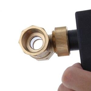 Image 4 - Điện Cơ Giới Đồng Van Bi DN15 AC 220V 2 Chiều 3 Dây Với Thiết Bị Truyền Động