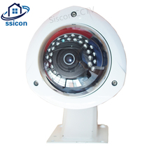 SSICON 2MP 180 Degree 360 Degree Fisheye IP Camera Panoramic Metal Wide Angle View Dome Security Camera Outdoor With Bracket