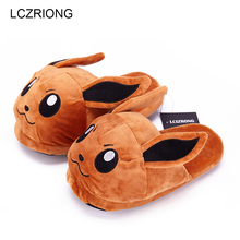Women Anime Cartoon Pokemon font b Slippers b font Lovers Warm Woman font b Slippers b