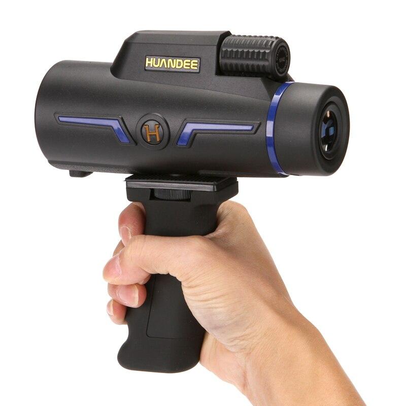 HUANDEE 10x42 optique monoculaire étanche télescope qualité pour la chasse binoculaire haute puissance monoculaire avec optique de prisme BaK4
