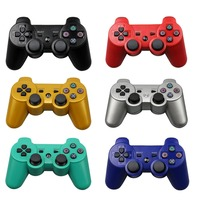 For Sony Playstation3 SzKosTon 11 Colors 2 4GHz Wireless Bluetooth Game Controller For PS3 Controller Joystick