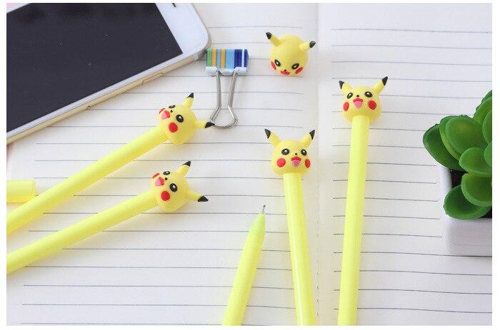 caneta neutra kawaii material escolar caneta para