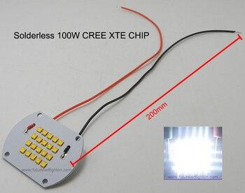 2015 Cree Xlamp 100 w CREE XTE Led Chip voor Overstroming licht, hightop Mode Laser Bay Licht Nieuwe Hot Koop Rushed Realnew collectie