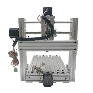 Image 5 - 3 4 5 axis aluminium mini cnc router machine voor hout reliëf embossment pcb pvc DIY frezen boren graveren bal schroef USB