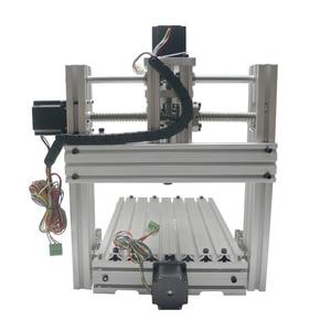 Image 5 - 3 4 5 ציר אלומיניום מיני cnc נתב מכונת עבור עץ בולט תבליט pcb pvc DIY כרסום קידוח חריטת כדור בורג USB