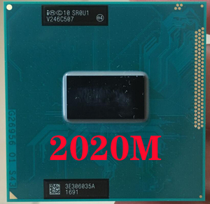 Intel Pentium 2020M SR0U1 Laptop processor Socket G2 rPGA988B notebook cpu 100% working properly