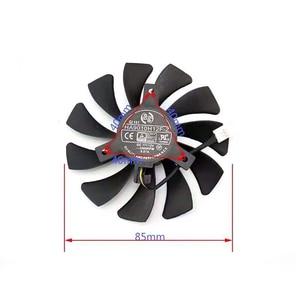 Image 3 - ديا 85 مللي متر HA9010H12F Z 4PIN ل XFX RX 560D RX 570 RX 580 RX Vega بطاقة الرسومات الفيديو مراوح تبريد الكمبيوتر