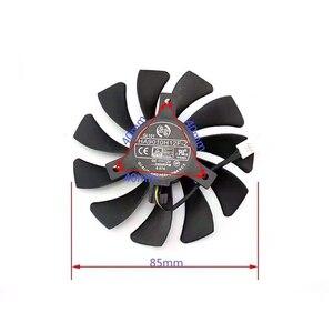 Image 3 - HA9010H12F Z de 85MM para XFX RX 560D RX 570 RX 580, 4 pines, tarjeta de vídeo gráfica, ventiladores refrigeración, PC, DIY