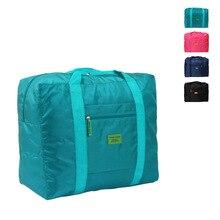 Hot Sale Foldable brand designer Big capacity luggage travels bags organizer waterproof Portable clothing finishing bag Nylon