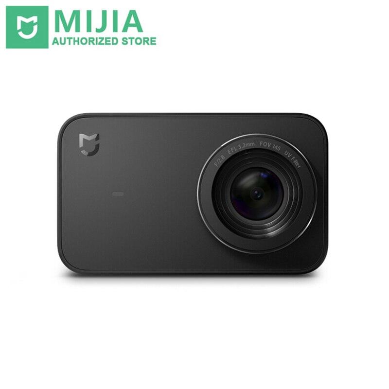 En Stock nouveau Xiaomi Mijia Portable Mini 4 K 30fps enregistrement vidéo 145 grand Angle 2.4 pouces écran Mijia Mini